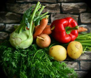 vegetables fiber sources